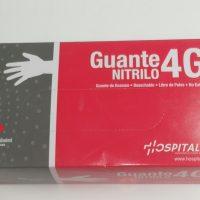 GUANTES DESECHABLE NITRILO