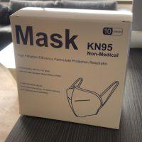 MASCARILLAS N95 Cert. 10/Un.