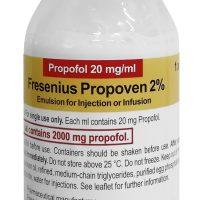 PROPOFOL 2 %  100 ml