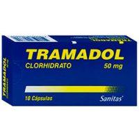 TRAMADOL 50 MG  10 cápsulas