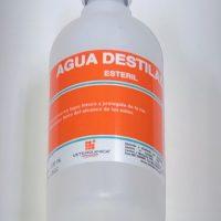 AGUA DESTILADA ESTERIL 100 ml