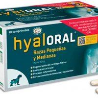 Hyaloral 90 comprimidos raza pequeña y mediana