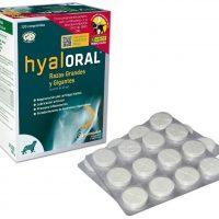 Hyaloral 120 comprimidos raza grande